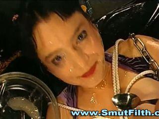 Fetisj del sperma bukkake facials