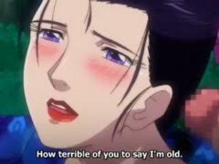 Geil drama anime video- met uncensored groot tieten, groep,