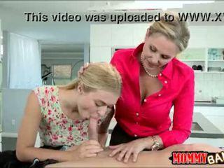 Natalia starr sharing dzimumloceklis ar milzīgs hooters pamāte julia ann