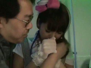 Азіатська мила японська дівчинки жити vid