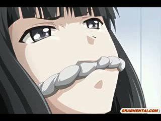 Bondage Hentai Coed Virgin Brutally Fucked