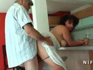 Lemu young french arab fucked by old man papy voyeur