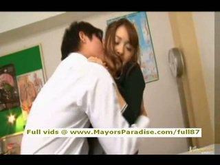 Mihiro от idol69 азиатки тийн брюнетка gets licked
