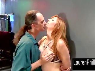 Lauren Phillips Big Tit Pole Dancer Pounded