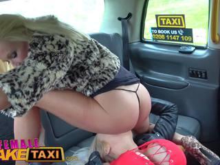 Female fake taxi insatiable mesum hot blondes taxi.
