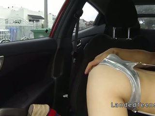 buitenshuis actie, vol hardcore porno, tiener