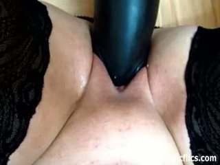 Titanic Dildos And Fisting Stretch Her Cunt