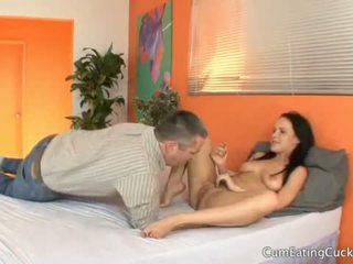 Katie st ives lets لها hubby راقب لها الحصول على pouned