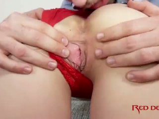 brunette, young, anal sex