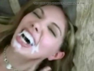 vol cumshots, kwaliteit cum in de mond klem, gezichtsbehandelingen film
