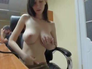 zien tieten seks, controleren brunette gepost, een webcam vid