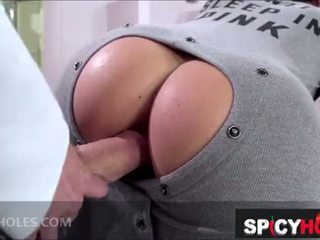 Katrina Jade and Keisha Grey fucking in the locker room