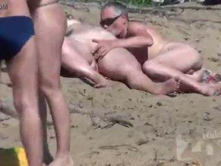 hq zuigen, nominale voyeur, kwaliteit strand seks