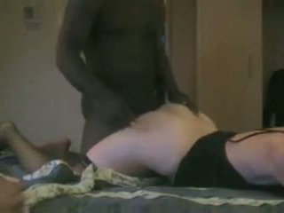 Cuckold Husband Watches Mature Black Daddy Breeds His