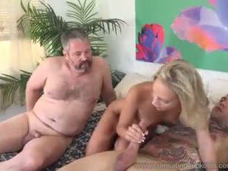 Emma Hix and Husband Fuck Her Young Stud Friend