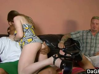 brunette, most doggystyle posted, blowjob