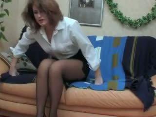 drunk, stockings, milf