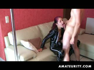 doggystyle, nice blowjob clip, all redhead action