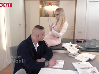 Letsdoeit - Filthy Big Tits Tutor Angel Wicky Gets Fucked by Student