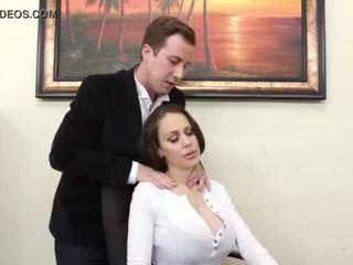 "Huge Titty Cougar Boss McKenzie Lee Cums Hard <span class=""duration"">- 6 min</span>"