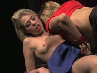 2 vamp tramps seduce a young innocent girl