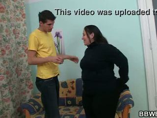 Chubby fatty is picked up and fucked