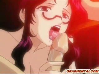 hentai porno, anime, gebonden
