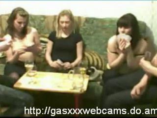 Girls Flashing Boobs At Strip Poker