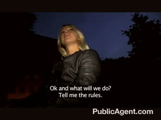 Publicagent - fuck blonde in home