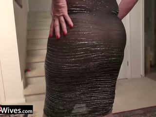 Usawives Mature Lady Jade Solo Masturbation: Free Porn f9