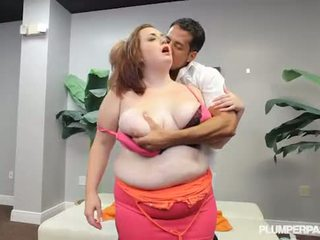 New Big Tit BBW Babe Curious Clover Does Hardcore Fucking