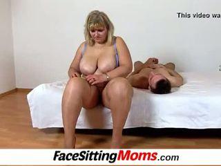 Groß titten amateur bbw mutter anna muschi licking cunnilingus
