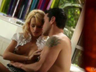 Stunning tight hottie Erica Fontes slammed hard