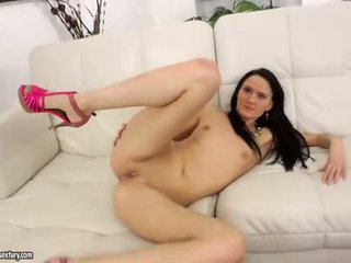 Teen with small tits fucked in all holes