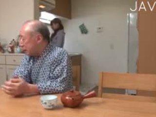 일본의, 올드 + 젊은, 비탄, 아시아의