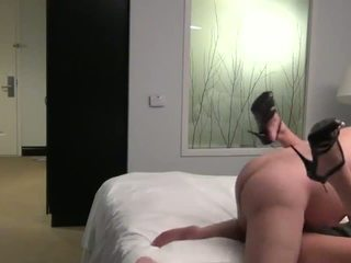 Fat Ugly Old Man Fuck a Young Beauty Escort in a Hotel