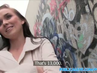 Publicagent seksi babe fucks stranger di alleyway - porno video 961
