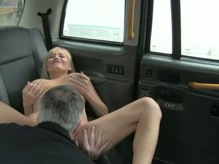 London taxi driver fucked busty whore