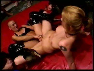 Bald Gang Bang: Free Orgy Porn Video f5