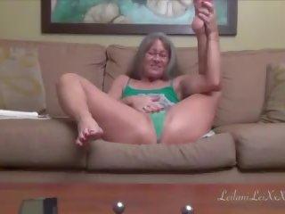 Leilani Lei Masturbates and Squirts M6, Porn 3b