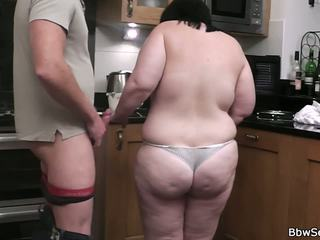 Cheating with BBW on the Kitchen, Free HD Porn 8c
