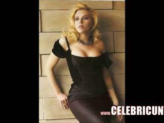 Scarlett johansson ihualasti tussu täis frontal video