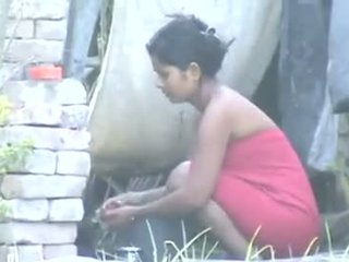 Indiana aldeia gaja banho outdoors