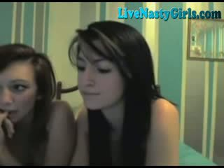 2 Hot Girls Kissing And Fingering F