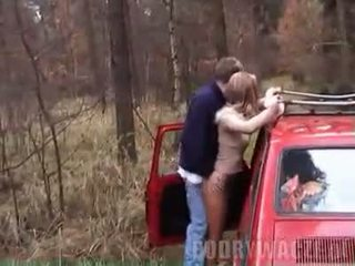 Polish car sex