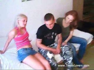 Three teen sex maniacs