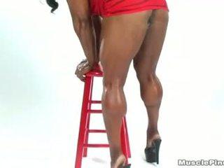Carmella Cureton 01 - Female Bodybuilder