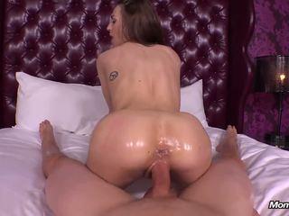beobachten brünette, ideal oral sex spaß, voll vaginal sex schön