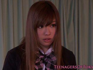 Tokyo Schoolgirl Creampied then Tastes Cum: Free HD Porn bb