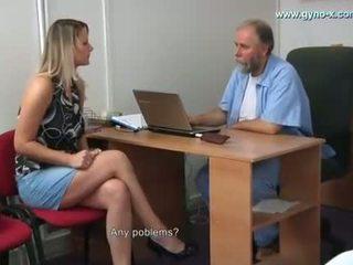 Samantha Gyno Exam by Gynecologist